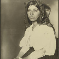 Italian woman.