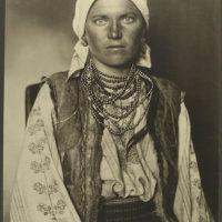 Ruthenian woman.