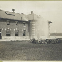 Similar to preceding view, but showing more of building at l...