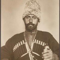 Cossack man from the steppes of Russia.