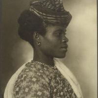 Guadeloupean woman.