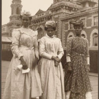 Three women from Guadeloupe.