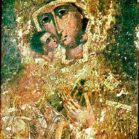 Miraculous Theodore Icon of the Mother of God.