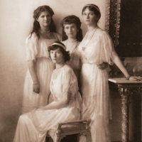 Daughters of Emperor Nicolas II - Grand Duchesses Olga Tatyana Marie and Anastasia