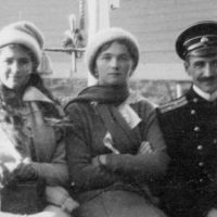 The Grand Duchesses Maria and Olga Nikolaevna...