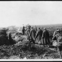 German prisoners, Western Front, during World War I