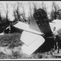 Huge German raider brought down in France