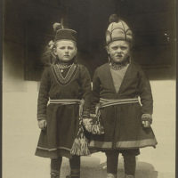 Lapland children, possibly from Sweden.