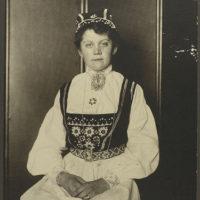 Norwegian woman.