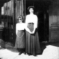 Grand Duchess Olga Alexandrovna with Anastasia