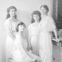 Grand Duchesses Maria, Anastasia, Olga, Tatiana