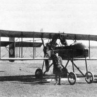 Podporuchik Petr Ivanov and his Vuazen airplane