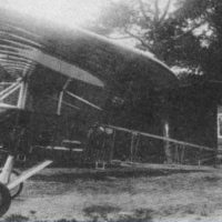 Russian-made experimental airplane, 1910s.