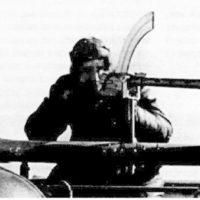 Strelok IM-IV Airship, Madsen on top centroplane machinegun station.