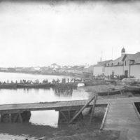 Athafnarlíf við Reykjavíkurhöfn, 1910-1914