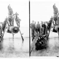 Gufukatli í Ullarverksmiðjuna Iðunni komið á land, 1905