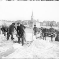 Ístaka á Tjörninni, 1909-1916