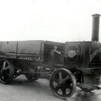 Steam driven lorry in Northern Ireland