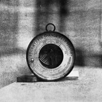 Barometer in the cabin of Captain William Thompson
