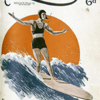 Illustrated front cover from The Queenslander, 22 November 1934