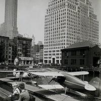 Downtown Skyport, Pier 11, East River, Manhattan.