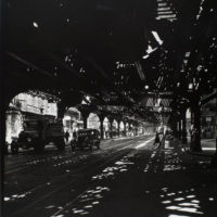 'El', Second and Third Avenue lines, Bowery taken from Divis...