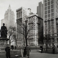 Madison Square, looking northeast, Manhattan.