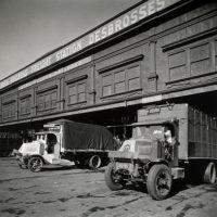 Trucks, West and Desbrosses Sts., Manhattan.