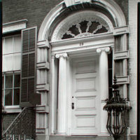 Doorway: Tredwell House, 29 East 4th Street, Manhattan.