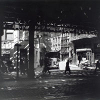 'El' Second and Third Avenue Lines, looking toward Doyers St...