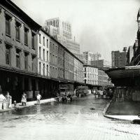Reade Street, between West and Washington Streets, Manhattan...