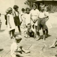 Children On Sidewalk