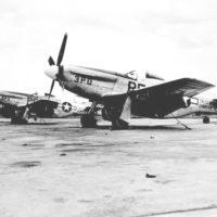 North American P-51D Mustangs at MacDill Army Air Base: Tampa, Florida