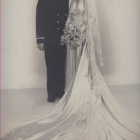 Edith & Stan Yokell Wedding Pic