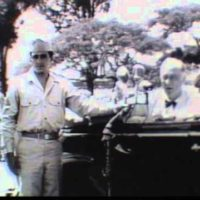 FDR Reviewing Troops in Hawaii