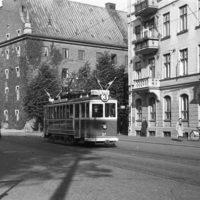 Tram in Malmö 1944