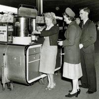 Cafe on wheels, 1948