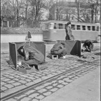 Trackwelding in Stockholm 1948