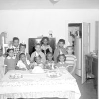 Eighth birthday party for Harriette Stewart in Tallahassee, Florida