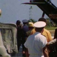 PRESIDENT NIXON'S VISIT, JOHNSTON ISLAND, July 23-24, 1969