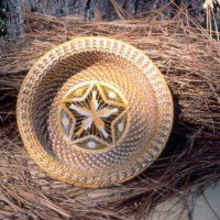 Woven basket: Saint Augustine, Florida
