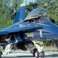 Blue Angels F/A-18 Hornet: Key West Naval Air Station, Florida