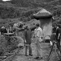 "Filming ""The Inn of the Sixth Happiness"" in Beddgelert"