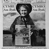 First page of 'Y Cymro' for St David's Day