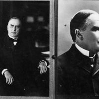 Two protraits of President William McKinley