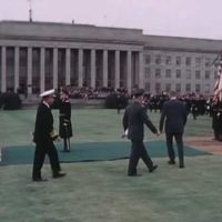 PRESIDENT NIXON VISITS THE PENTAGON, 01/31/1969