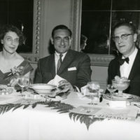 The Poliers at American Jewish Congress dinner