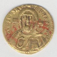 Solidus of Justinian II (685-95)