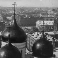 Moscow, the old newsreel 1908