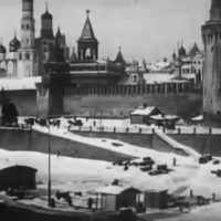The old pre-revolutionary Moscow in the video of 1908.